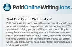 Paid Online Writing Jobs Review-Paid Online Writing Jobs Download