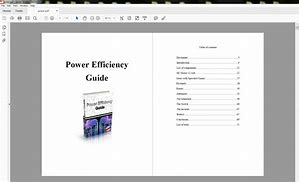 Power Efficiency Guide Review-Power Efficiency Guide Download