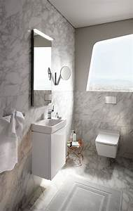 Langley, Interiors, Small, Wc, Style, Bathroom, Design, In, Full, Marble, Walls, With, Geberit, Toilet, And