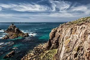 Wallpaper, Cornwall, 5k, 4k, Wallpaper, England, Rocks, Atlantic, Ocean, Sky, Nature, 6161