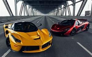 Mclaren, P1, Ferrari, Laferrari, Car, Bridge, Road, Wallpapers, Hd, Desktop, And, Mobile, Backgrounds