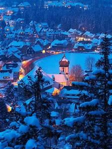 hinterzarten, winter, , u2013, bing, wallpaper, download