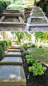 The, Best, 23, Diy, Ideas, To, Make, Garden, Stairs, And, Steps