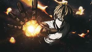 Wallpaper, Anime, Robot, One, Punch, Man, Genos, Flame, Darkness, Screenshot, Computer, Wallpaper