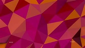 Wallpaper, Polygon, 4k, 5k, Wallpaper, 8k, Pink, Orange, Background, Pattern, Abstract, 253