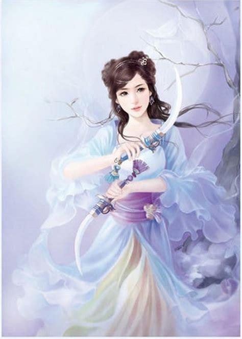 月亮女神动漫美女图片